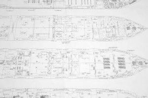 Generalplan im Schiffbau