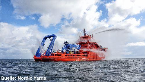 Murman - russisches Rettungsschiff