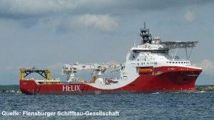 Spezialschiff - Siem Helix 1